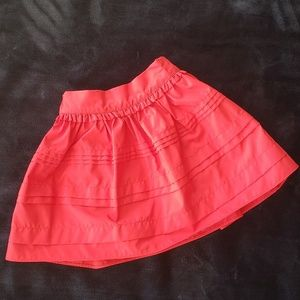 👧 Carter's Size 6 Girls Red Holiday Skirt